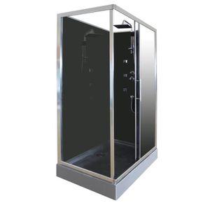 CABINE DE DOUCHE AQUA+ Cabine de douche hydro Delline 120x80 cm