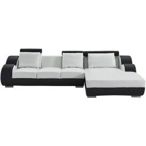 CANAPÉ - SOFA - DIVAN DAMIEN Canapé de relaxation d'angle droit fixe 6 p