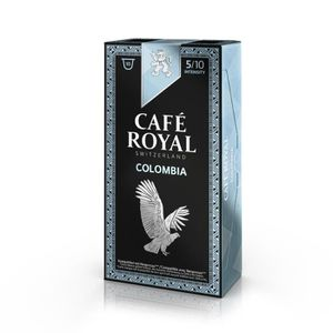 CAFÉ 10 capsules Café Royal Single Origin Colombia Caps