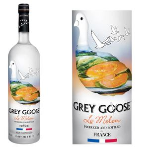 VODKA Grey Goose Le Melon- Vodka Aromatisée - 1L - 40°