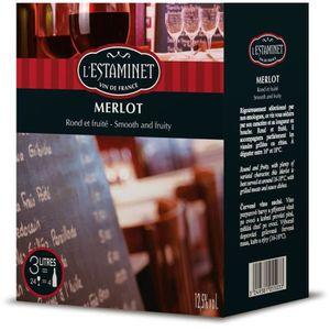 VIN ROUGE L'Estamet - Vin rouge du Languedoc Roussillon - 3