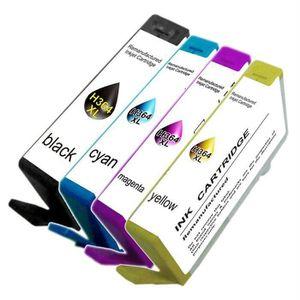 PACK CARTOUCHES Compatible - Pack de 4 cartouches d'encre - HP 364