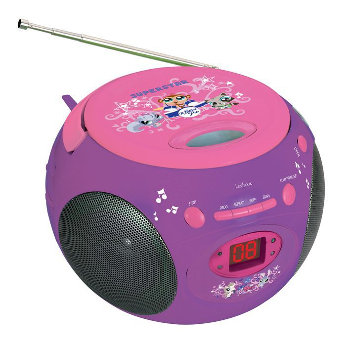 lecteur cd radio littlest petshop achat vente radio. Black Bedroom Furniture Sets. Home Design Ideas