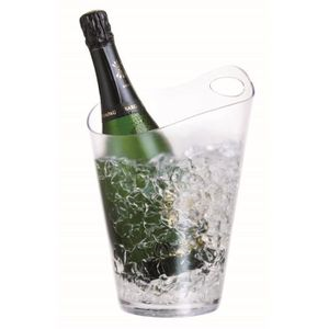 SEAU - RAFRAICHISSEUR  Seau à Champagne Salsa - Plexi - pour 1 bouteille