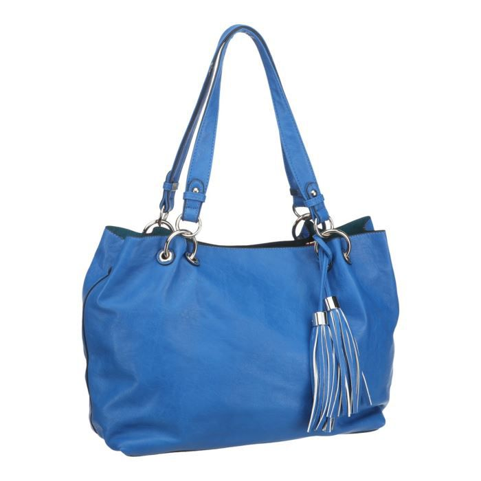 Sac A Main Bleu Pale : David jones sac ? main bleu achat vente