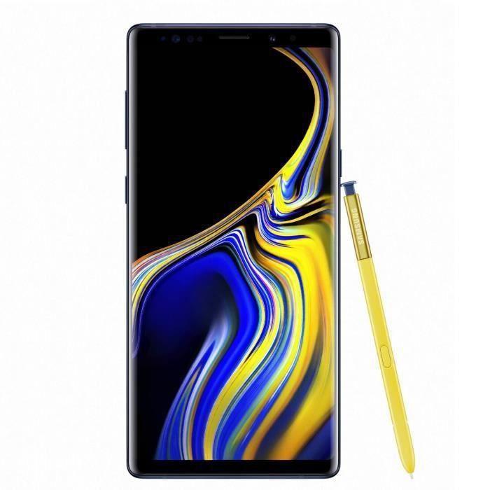SMARTPHONE Samsung Galaxy Note 9 128 go Bleu - Double sim