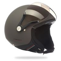 CASQUE MOTO SCOOTER Casque Jet scooter moto NEXX X60 Vision Plus gris