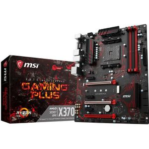 CARTE MÈRE MSI Carte mère AMD® X370 GAMING PLUS - Socket AM4