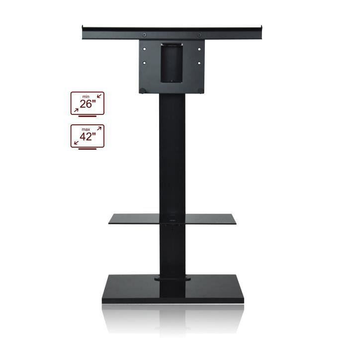 Ateca pop meuble support tv jusqu 42 achat vente for Meuble support tv