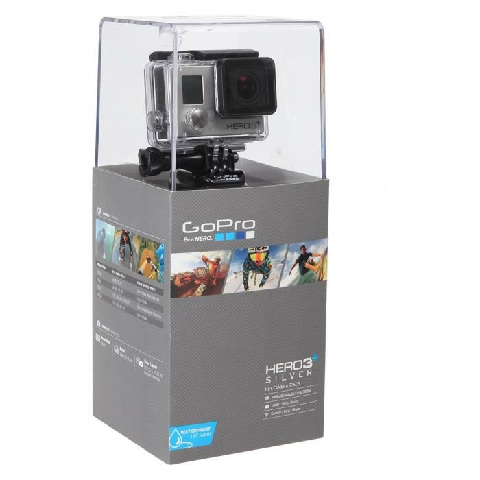 gopro hero 3 silver edition achat vente cam scope. Black Bedroom Furniture Sets. Home Design Ideas