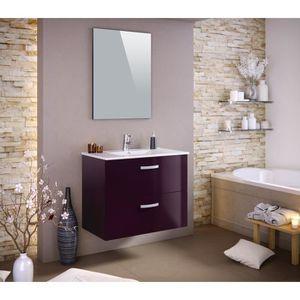 SALLE DE BAIN COMPLETE STELLA Ensemble salle de bain simple vasque avec m