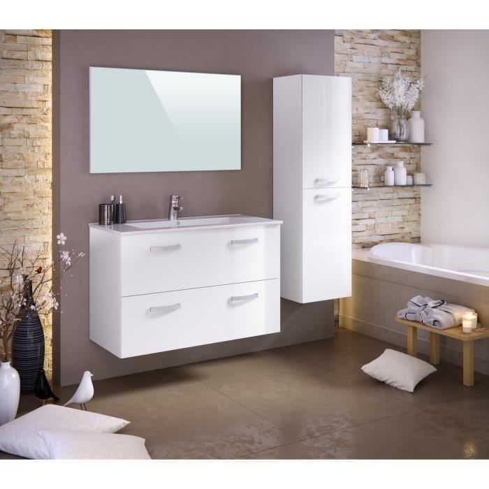 stella ensemble salle de bain simple vasque avec colonne. Black Bedroom Furniture Sets. Home Design Ideas