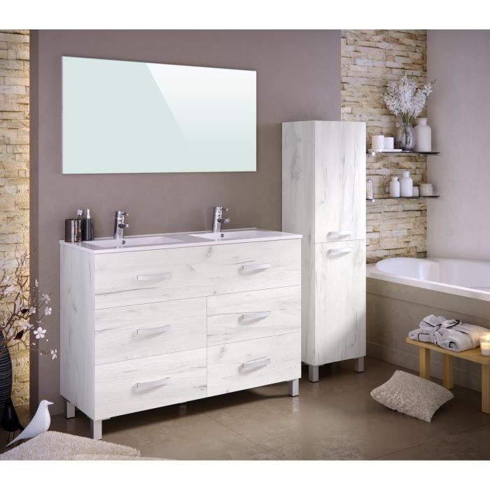 ensemble meuble salle de bain blanc achat vente ensemble meuble salle de bain blanc pas cher. Black Bedroom Furniture Sets. Home Design Ideas