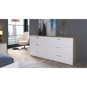 commode achat vente commode pas cher les soldes sur cdiscount cdiscount. Black Bedroom Furniture Sets. Home Design Ideas