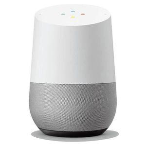 ASSISTANT VOCAL Google Home Blanc - Enceinte avec Assistant vocal