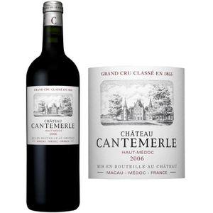 VIN ROUGE Château Cantemerle 2006 Haut Médoc - Vin rouge de
