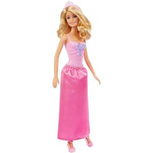 POUPÉE BARBIE - Poupée Princesse - Robe Rose