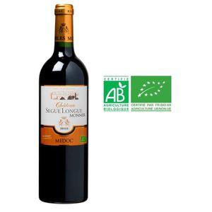 VIN ROUGE CHÂTEAU SEGUE LONGUE MONNIER 2012 Médoc Vin de Bor