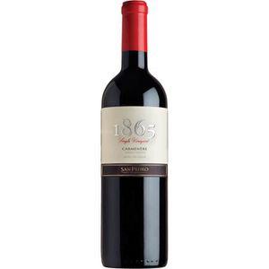 VIN ROUGE 1865  Carmenere - Vin rouge du Chili