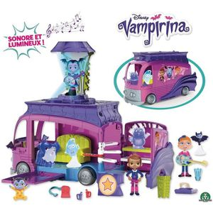 FIGURINE - PERSONNAGE Vampirina - Van Transformable Sonore et Lumineux (