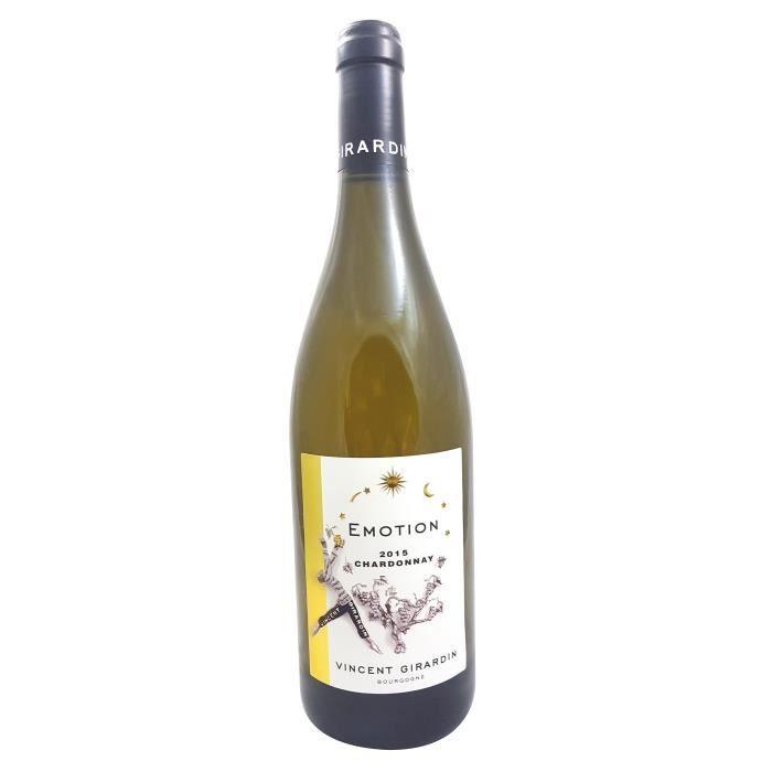 VIN BLANC Vincent Girardin Emotion 2015 Bourgogne Chardonnay