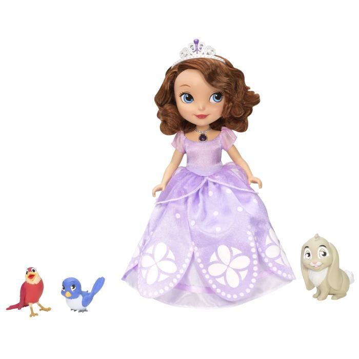 princesse sofia parlante et ses animaux achat vente figurine personnage cdiscount. Black Bedroom Furniture Sets. Home Design Ideas