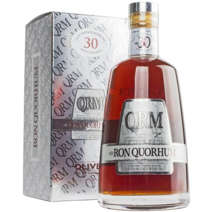 RHUM Rhum Quorhum 30 ans - 40 % - 70 cl