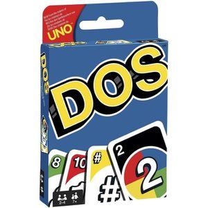 JEU SOCIÉTÉ - PLATEAU DOS Jeu de cartes - 2 à 4 joueurs - 7 ans et +