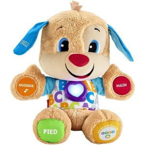 PELUCHE FISHER-PRICE - Puppy - Peluche d'Éveil Progressif