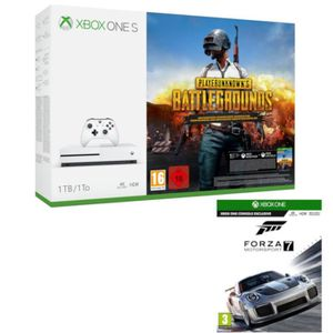 CONSOLE XBOX ONE Xbox One S 1 To PUBG   + Forza Motorsport 7