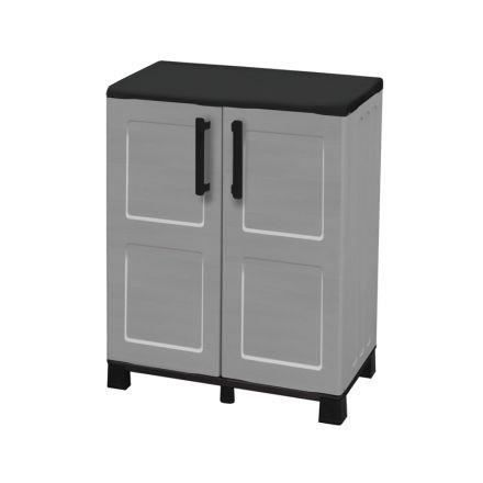 sogenex armoire de rangement basse en r sine 1 tablette. Black Bedroom Furniture Sets. Home Design Ideas