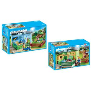 UNIVERS MINIATURE PLAYMOBIL - Pack La Pension des Animaux - 9276 Mai