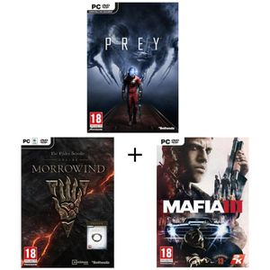 JEU PC Pack Prey + The Elder Scrolls Online: Morrowind +