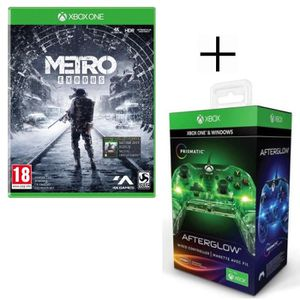 JEU XBOX ONE Metro Exodus Jeu Xbox One + Manette filaire PDP Af