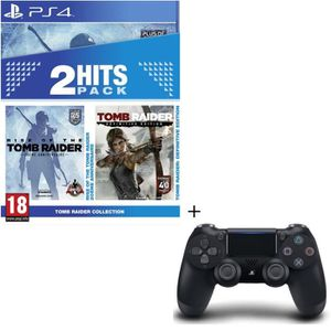 JEU PS4 Pack Tomb Raider Edition Definitive + Rise of the