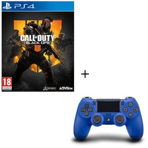 JEU PS4 Pack Call of Duty Black OPS 4 Jeu PS4 + Manette PS