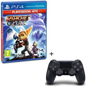 JEU PS4 Pack Ratchet & Clank PlayStation Hits + Manette PS