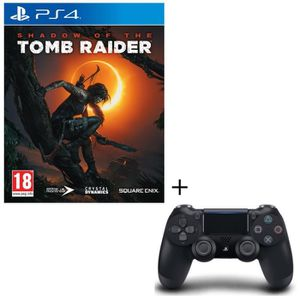 PACK ACCESSOIRE Pack Shadow of the Tomb Raider Jeu PS4 + Manette D