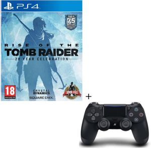 JEU PS4 Pack Rise Of The Tomb Raider 20 Year Celebration J