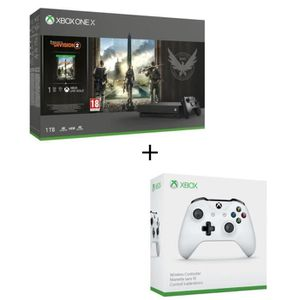 CONSOLE XBOX ONE Xbox One X 1 To Tom Clancy's the Division 2 + 2e m