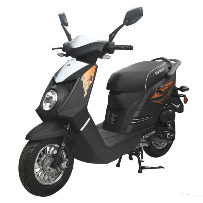 eurocka scooter 50cc q one noir mat achat vente scooter q one 50cc noir mat cdiscount. Black Bedroom Furniture Sets. Home Design Ideas