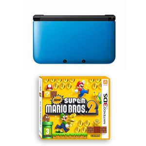 CONSOLE 3DS Pack Console 3DS XL + Jeu New Super Mario Bros 2