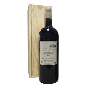 VIN ROUGE Château Haute Combe 2015 AOC Côtes de Bourg - Vin
