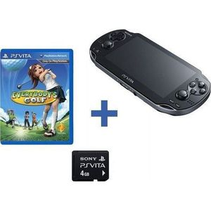 PS VITA PS VITA 3G + CARTE MEMOIRE 4Go + EVERYBODY'S GOLF