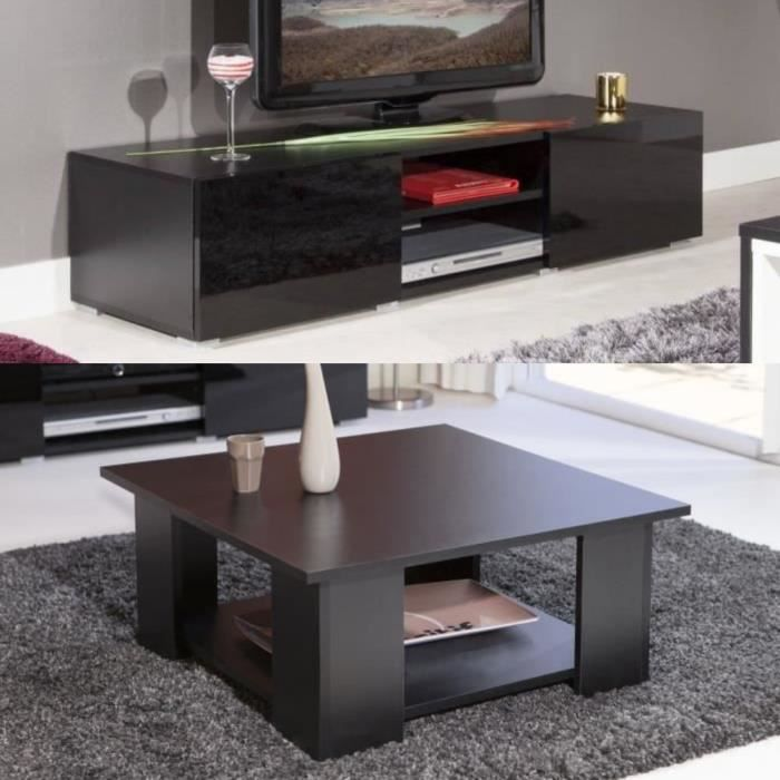 Ensemble table basse meuble tv achat vente ensemble for Ensemble meuble de salon