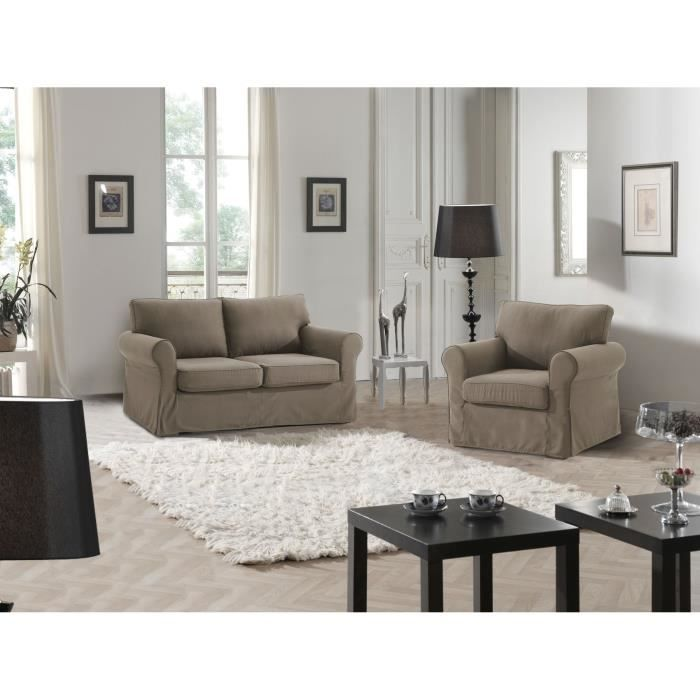 cosy canap 2p fauteuil camel achat vente canap. Black Bedroom Furniture Sets. Home Design Ideas