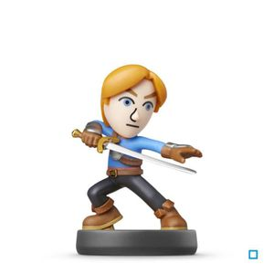 FIGURINE DE JEU Figurine Amiibo Epeiste Mii Collection Super Smash