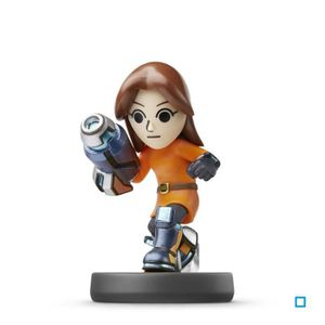 FIGURINE DE JEU Figurine Amiibo Tireuse Mii Collection Super Smash