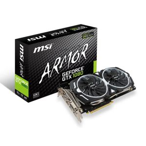 CARTE GRAPHIQUE INTERNE MSI Carte graphique GeForce® GTX 1080 ARMOR 8Go OC
