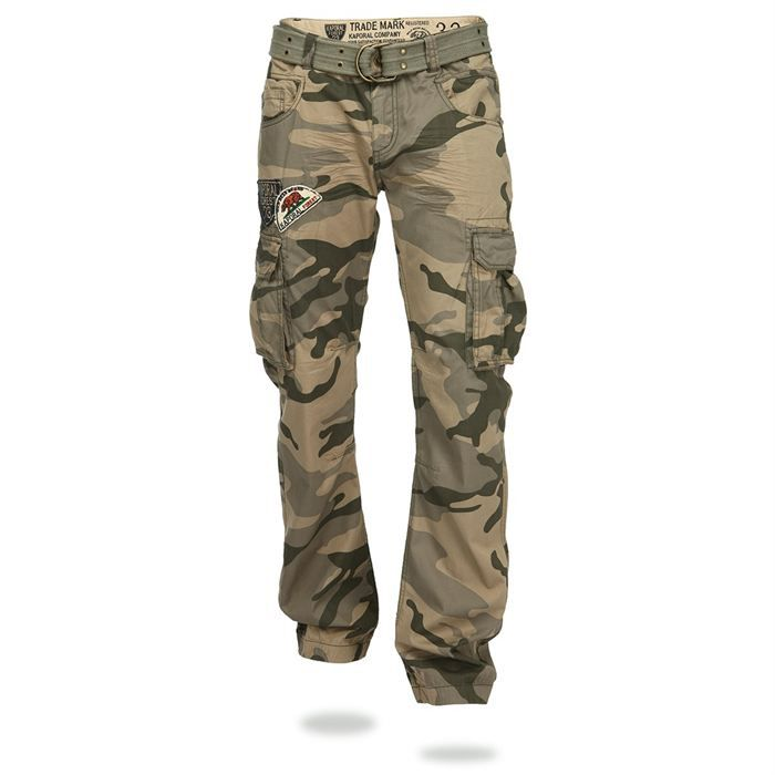 kaporal pantalon suky homme kaki camouflage achat. Black Bedroom Furniture Sets. Home Design Ideas